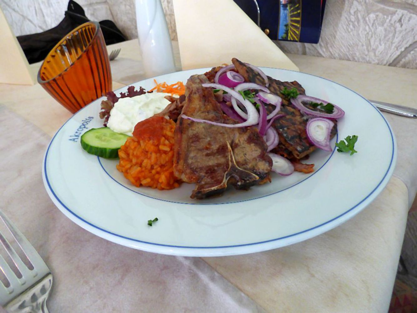 Griechisches restaurant greek food akropolis niendorf for Akropolis greek cuisine merrillville in